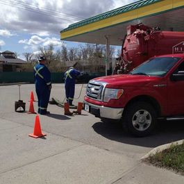 Gas station Vacuum Service